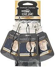 Parfumuri și produse cosmetice Set de dezodorizante auto - Yankee Candle Car Jar Midsummers Night