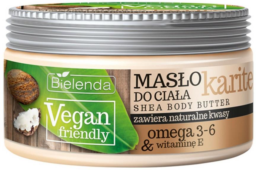 "Unt de corp ""Karite"" - Bielenda Vegan Friendly Shea Body Butter — Imagine N1"