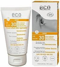 Parfumuri și produse cosmetice Cremă de protecție solară impermeabilă SPF 30 cu efect de bronzare - Eco Cosmetics Sonne SLF 30 Getoent