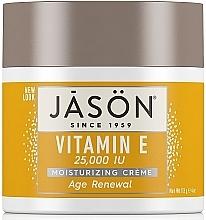 Parfumuri și produse cosmetice Cremă regenerantă pentru față și corp, cu vitamina E - Jason Natural Cosmetics Age Renewal Vitamin E