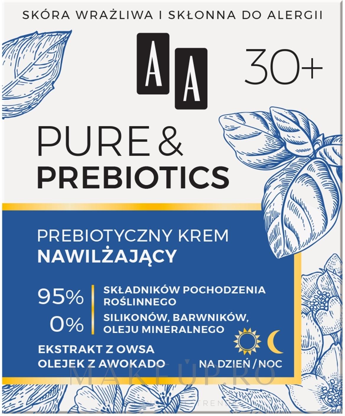 Cremă hidratantă de față - AA Pure & Prebiotics — Imagine 50 ml