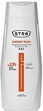 Parfumuri și produse cosmetice Gel de duș 3în1 - STR8 Energy Rush Invigorating Shower Gel 3 in 1