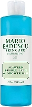 "Parfumuri și produse cosmetice Gel de duș ""Alge marine"" - Mario Badescu Seaweed Bubble Bath & Shower Gel"