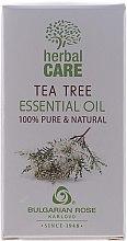 """Parfumuri și produse cosmetice Ulei esențial """"Arbore de ceai"""" - Bulgarian Rose Herbal Care Tea Tree Essential Oil"""