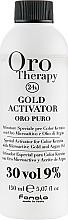 Parfumuri și produse cosmetice Oxidant cu microparticule de aur 9% - Fanola Oro Gold