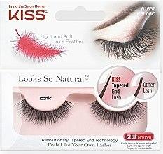 Parfumuri și produse cosmetice Gene false - Kiss Look So Natural Lashes Iconic