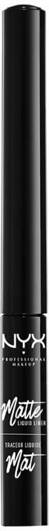 Tuș lichid mat pentru ochi - NYX Professional Makeup Matte Liquid Liner