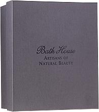 Parfumuri și produse cosmetice Bath House Spanish Fig and Nutmeg - Set (sh/gel/160ml +soap/150g + deo/50ml + towel/1pcs + brush/1pcs)