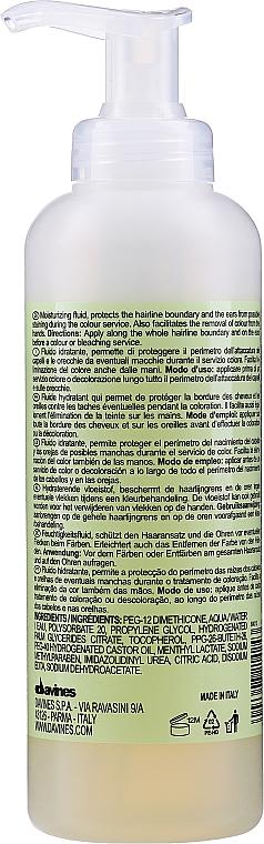 Ulei pentru protejarea scalpului de vopsea - Davines Protection Provider Oil — Imagine N2