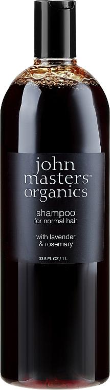 """Șampon """"Lavandă și Rozmarin"""" - John Masters Organics Lavender Rosemary Shampoo — Imagine N1"""
