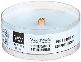 Parfumuri și produse cosmetice Lumânare aromată în suport de sticlă - Woodwick Petite Candle Pure Comfort