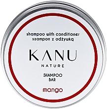 Parfumuri și produse cosmetice Șampon 2 în 1, în cutie de metal - Kanu Nature Shampoo With Conditioner Shampoo Bar Mango