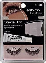 Parfumuri și produse cosmetice Set - Ardell Fashion Lashes Starter Kit Demi Black 101