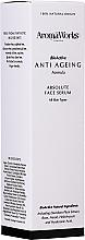 Parfumuri și produse cosmetice Ser absolut pentru față - AromaWorks Absolute Face Serum