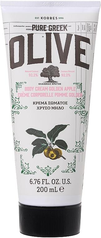 Cremă pentru corp - Korres Pure Greek Olive Golden Apple Body Cream — Imagine N1