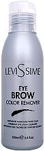 Parfumuri și produse cosmetice Soluție pentru îndepărtarea vopselei de pe piele - LeviSsime Eye Brow Color Remover