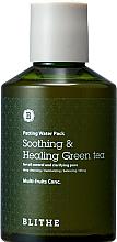Parfumuri și produse cosmetice Mască de față - Blithe Patting Splash Mask Soothing Green Tea