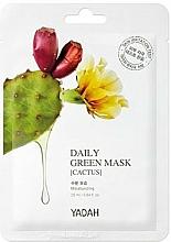 """Parfumuri și produse cosmetice Mască de față """"Cactus"""" - Yadah Daily Green Mask Cactus"""