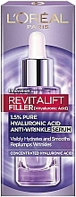 Parfumuri și produse cosmetice Ser antirid cu acid hialuronic pentru față - L'Oreal Paris Revitalift Filler (ha)