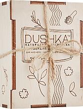 Parfumuri și produse cosmetice Șampon solid pentru păr gras și normal - Dushka