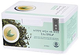Parfumuri și produse cosmetice Set măști de țesut cu extract de ceai verde - A'pieu Daily Sheet Mask Green Tea Soothing