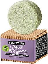 Parfumuri și produse cosmetice Șampon solid cu ulei de ienupăr și lavandă pentru scalp sensibil - Beauty Jar I Have Feelings