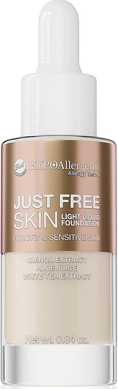 Fluid tonal - Bell Just Free Skin Light Liquid Foundation