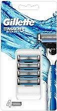 Parfumuri și produse cosmetice Casete înlocuibile de ras - Gillette Mach3 Start Razor Blades