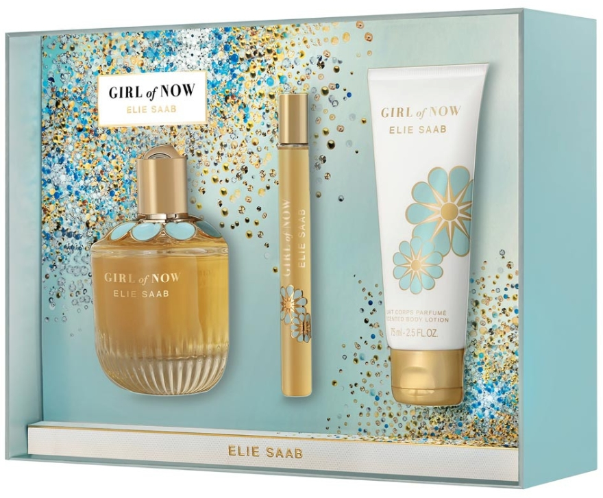 Elie Saab Girl of Now - Set (edp/90ml + edp/10ml + b/lot/75ml)