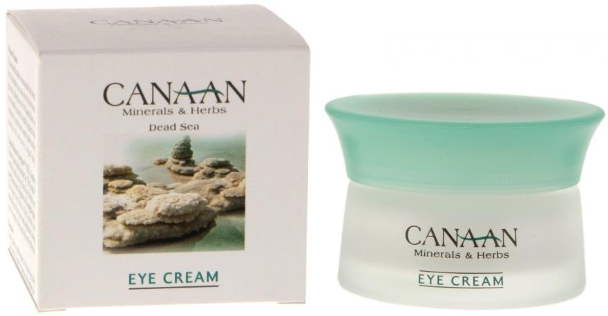 Cremă pentru conturul ochilor - Canaan Minerals & Herbs Eye Cream — Imagine N1
