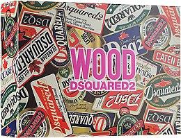 Parfumuri și produse cosmetice Dsquared2 Wood Pour Femme - Set (edt/100ml + edt/10ml + sh/gel/150ml)