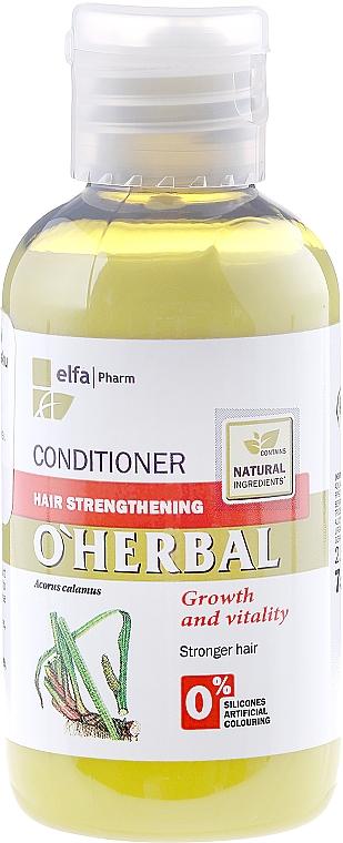 Balsam pentru întărirea părului cu extract de rădăcină de calamus - O'Herbal