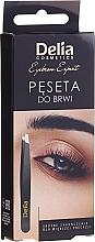Parfumuri și produse cosmetice Pensetă pentru sprâncene - Delia Cosmetics Eyebrow Expert