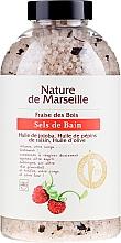 Parfumuri și produse cosmetice Sare de baie cu aromă de căpșuni - Nature de Marseille