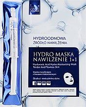 Parfumuri și produse cosmetice Mască de față - Czyste Piekno Hydro Mask Cloth Face Intensive Hydrating + Serum