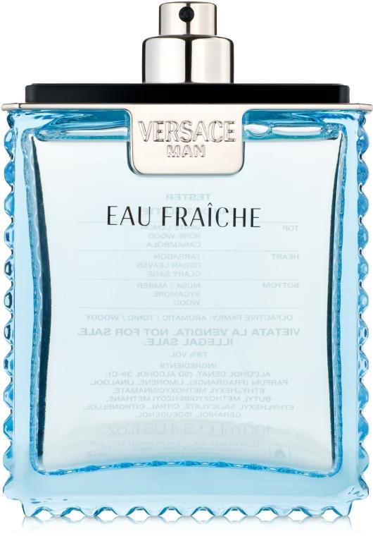 Versace Man Eau Fraiche - Apă de toaletă (tester fără capac) — Imagine N1