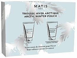 Parfumuri și produse cosmetice Set - Matis Reponse Artic Winter Pouch (f/balm/50ml + f/mask/50ml)
