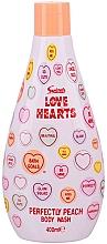 Parfumuri și produse cosmetice Gel de duș - Swizzels Love Hearts Perfectly Peach Shower Gel