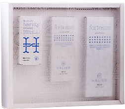 Parfumuri și produse cosmetice Set - Halier Fortesse (shmp/250ml + cond/150ml + supplement/60pcs)