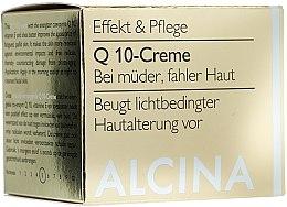 Parfumuri și produse cosmetice Cremă cu Q10 - Alcina Q 10 Creme
