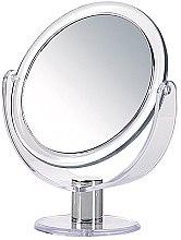Parfumuri și produse cosmetice Oglindă dublă de masă, rotundă, 17 cm - Donegal Mirror
