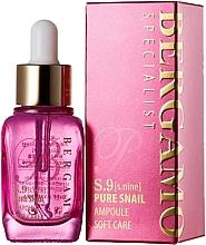 Parfumuri și produse cosmetice Ser antirid cu mucină de melc - Bergamo Specialist S9 Snail Ampoule