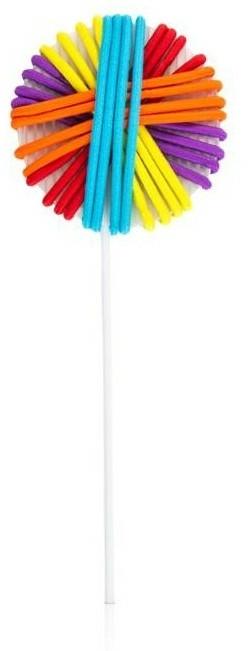 """Set de elastice pentru păr """"Lollipop"""" FA-5539, 20 bucăți - Donegal — Imagine N1"""