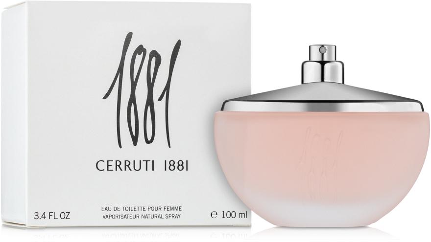 Cerruti 1881 pour femme - Apă de toaletă (tester fără capac) — Imagine N2