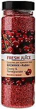 Parfumuri și produse cosmetice Bile pentru baie - Fresh Juice Bath Bijou Rubin Cherry and Pomergranate