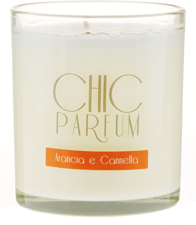 Lumânare parfumată - Chic Parfum Arancia E Cannella Candle — Imagine N1