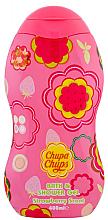 """Parfumuri și produse cosmetice Gel de duș """"Căpșună"""" - Chupa Chups Body Wash Strawberry Scent"""