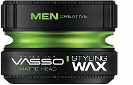 Parfumuri și produse cosmetice Ceară mată pentru păr - Vasso Professional Hair Styling Wax Pro-Matte Head