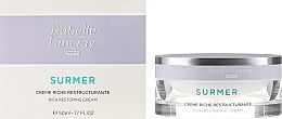 Parfumuri și produse cosmetice Cremă de față - Isabelle Lancray Surmer Rich Restoring Cream