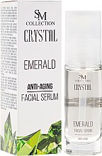 "Parfumuri și produse cosmetice Ser de față ""Emerald"" - SM Collection Crystal"